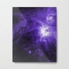 Orion Nebula Ultraviolet Metal Print