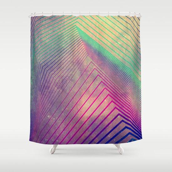 lyyn tyym Shower Curtain