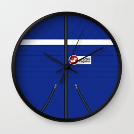 Party Poison Outfit Wall Clock