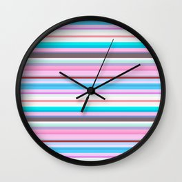 Aqua Type Wall Clock