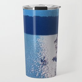 Blue Mountain Lake Travel Mug