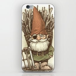 Gnome Woodcutter iPhone Skin