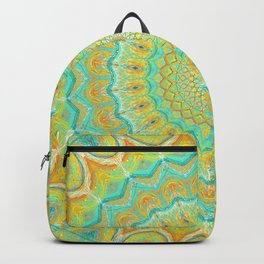 Citrus Burst - Mandala Art Backpack