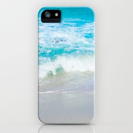 Jervis Bay Surf - squared iPhone Case