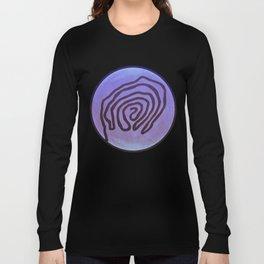 Tribal Maps - Magical Mazes #04 Long Sleeve T-shirt