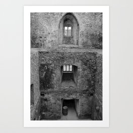 Castel Rooms Without Floors Art Print
