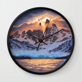 Arctic Pass Wall Clock