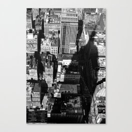 Empire Shadow Canvas Print