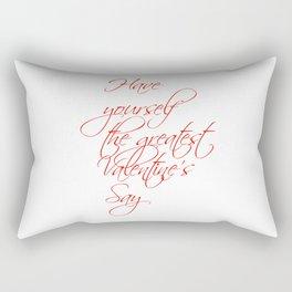 For Valentine's Day1 Rectangular Pillow