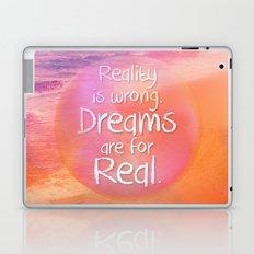 Beach Waves IV - Dreams and Reality Laptop & iPad Skin