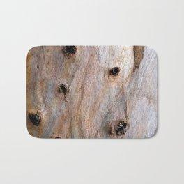 Eucalyptus Tree Bark and Wood Texture 14 Bath Mat