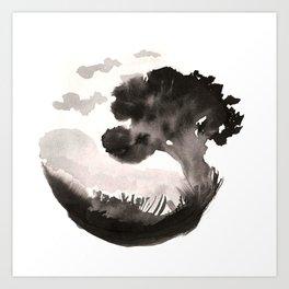 A peaceful landscape Art Print