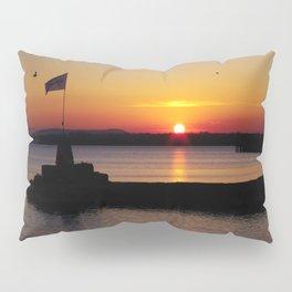A beautiful sunset view of Lough Neagh Pillow Sham
