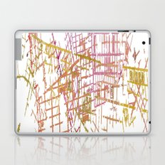 NYC Map lines Laptop & iPad Skin
