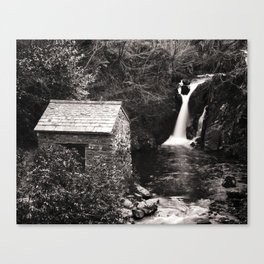 The Grot, Rydal Hall, in the Lake District Canvas Print