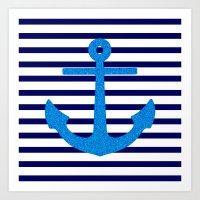 sail Art Prints featuring Sail by M Studio