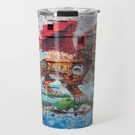 Detroit Chimera ( kī-ˈmir-ə ) Travel Mug