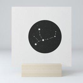 Virgo Zodiac Sign Constellation  Mini Art Print