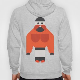 Big Muscle Man Art Hoody
