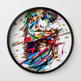 6th Anniversary Wall Clock