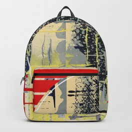 sunday Morning - red Backpack