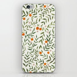 Oranges Foliage iPhone Skin