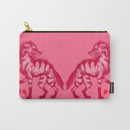 Strawberry Hyena Carry-All Pouch