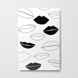 Dark Kisses Metal Print