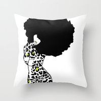 egypt Throw Pillows featuring egypt by Olive Paperie