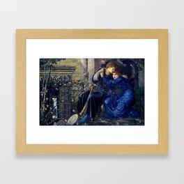 """Edward Burne-Jones """"Love Among the Ruins"""" Framed Art Print"""