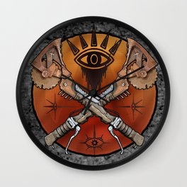 Borderlands Psycho Buzz Axe Wall Clock