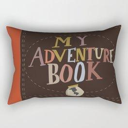 my adventure book.. up, carl and ellie Rectangular Pillow