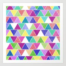 Triangle Print; Art Print