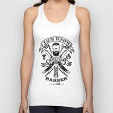 Jack Knife Unisex Tank Top
