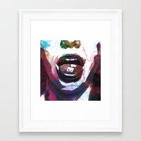lsd Framed Art Prints featuring LSD by miguelnarayan