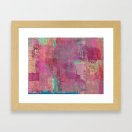Lake Retba (Lac Rose) Framed Art Print