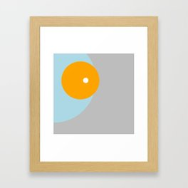 Eclipse double Framed Art Print
