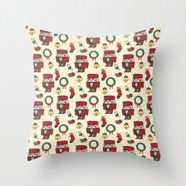 Nutcracker Holiday Christmas SB1 Throw Pillow