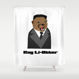 Ray Li-Otter Shower Curtain