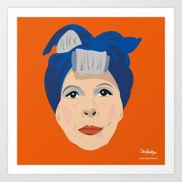 Ruth Gordon as Minnie from Rosemary's Baby Art Print