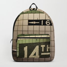 14th Street Station Backpack