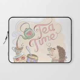 Tea Time with Harriet Hedgehog Laptop Sleeve