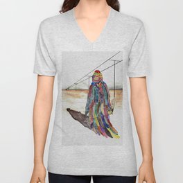Sibyl on her way Unisex V-Neck