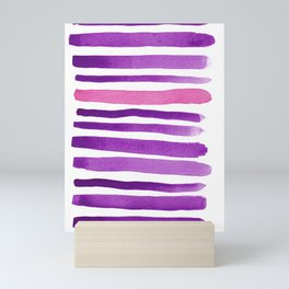 Purple Modern Mini Art Print