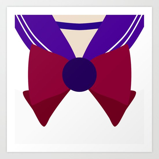 Sailor Saturn Bow Art Print