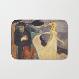 Separation by Edvard Munch Bath Mat