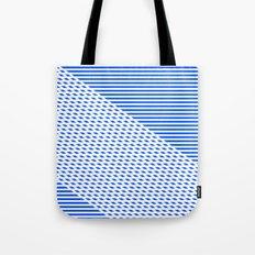 Ovrlap Blue Tote Bag