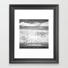 TOP IPANEMA B&W Framed Art Print