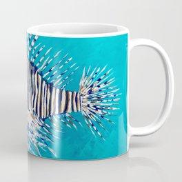 Lion Fish 3, a pretty predator & invasive species Coffee Mug