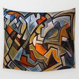 La Duree de Vie Moyenne d'un Papillon Wall Tapestry